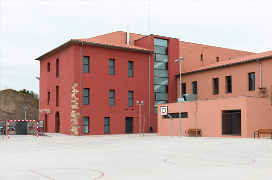 Rehabilitación de la Escuela Enxaneta de Valls